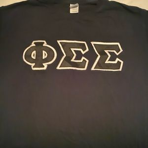 Phi Sigma Sigma- Formal Letter Tee